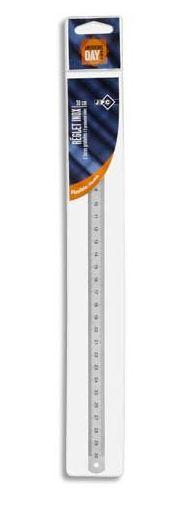 JPC Metall-Lineal, Länge: 300 mm, biegbar