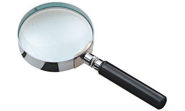 JPC Leselupe mit Griff, rund, Durchmesser: 50 mm