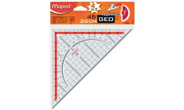JPC Geodreieck, Hypotenuse: 240 mm