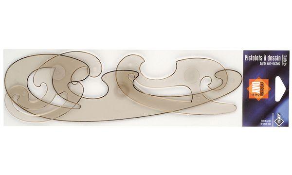 JPC Burmester-Kurvensatz, 3-teilig, rauchgrau