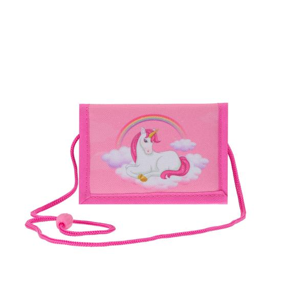 TTS Kids Wallet Pink Unicorn  Brustbeutel EINHORN