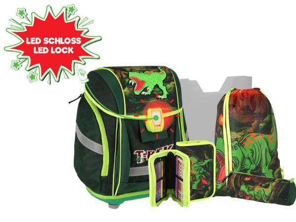 TTS Schulranzen-Set  5teilig T-REX Dinosaurier Serie New...
