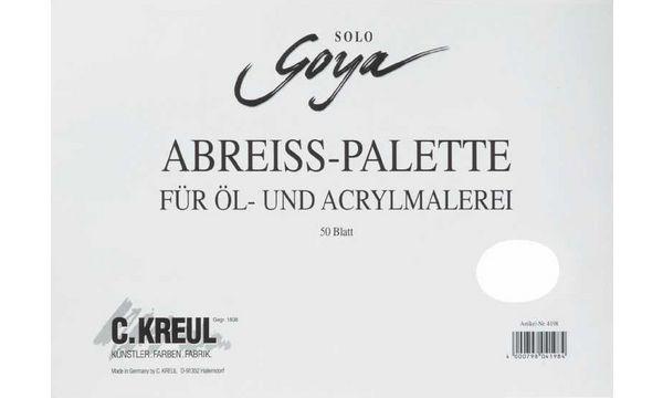 KREUL Abreiß-Farbmisch-Palette SOLO Goya, aus Papier