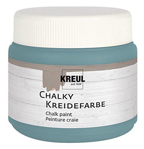KREUL Kreidefarbe Chalky, Sir Petrol, 150 ml