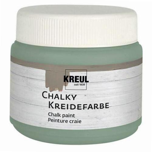 KREUL Kreidefarbe Chalky, Herbal Green, 150 ml