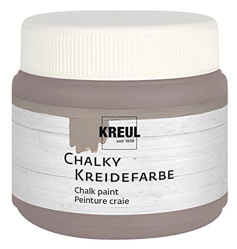 KREUL Kreidefarbe Chalky, Mild Mocca, 150 ml