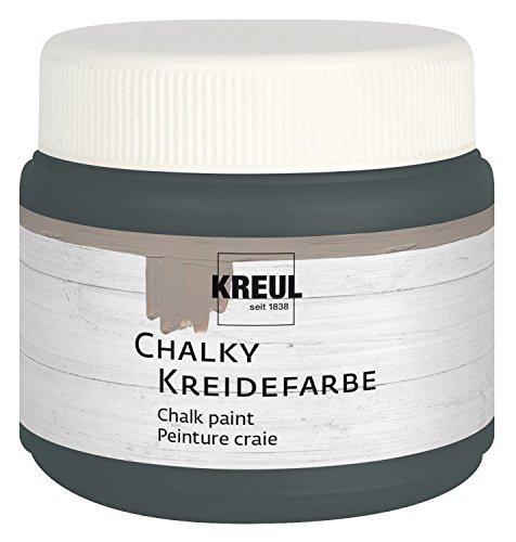 KREUL Kreidefarbe Chalky, Volcanic Grey, 150 ml