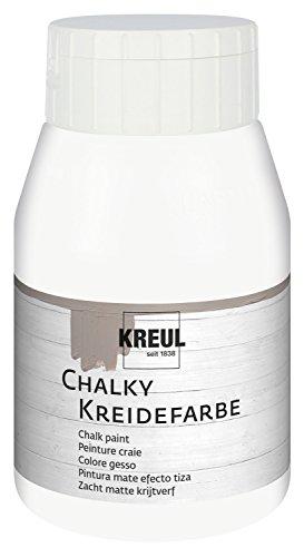 KREUL Kreidefarbe Chalky, White Cotton, 500 ml