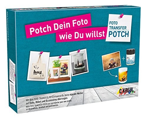 KREUL Foto Transfer POTCH, Set NEUES DESIGN