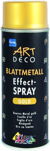 KREUL Blattmetall Effect-Spray Home Design ART DECO, gold