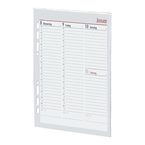 Kalendarium Timer ca A5 20,5x14,6cm vertikal 2021