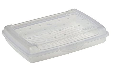 keeeper Brotdose luca, Click-Box Mini, natur-transparent