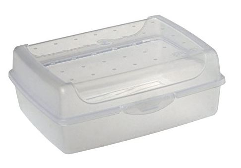 keeeper Brotdose luca, Click-Box Midi, natur-transparent