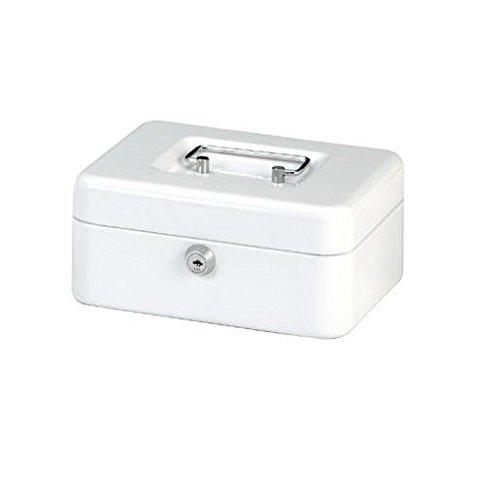 MAUL Geldkassette, weiß, Maße: (B)200 x (T)170 x (H)90 mm