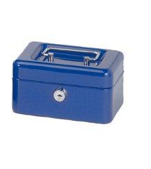 MAUL Geldkassette, blau, Maße: (B)152 x (T)125 x (H)81 mm