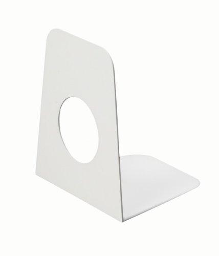MAUL Buchstütze (B)90 x (T)105 x (H)120 mm, weiß