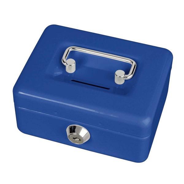MAUL Geldkassette mit Münzeinwurf, blau
