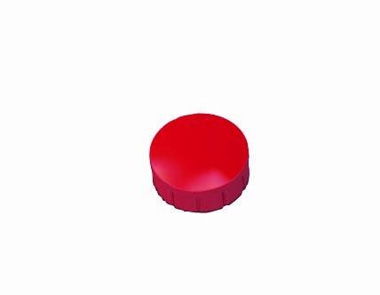 MAUL Haftmagnet MAULsolid, Haftkraft: 0,15 kg, rot