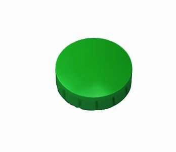 MAUL Haftmagnet MAULsolid, Haftkraft: 0,3 kg, grün