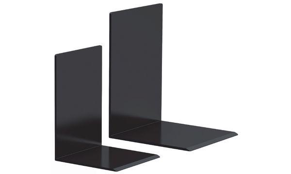 MAUL Buchstütze aus Kunststoff, schwarz, 80 x 100 x 100 mm