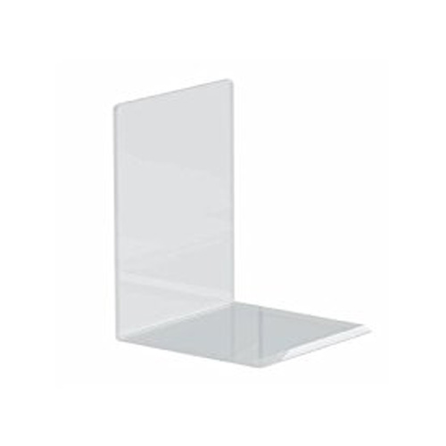 MAUL Buchstütze aus Acryl, glasklar, 100 x 100 x 130 mm