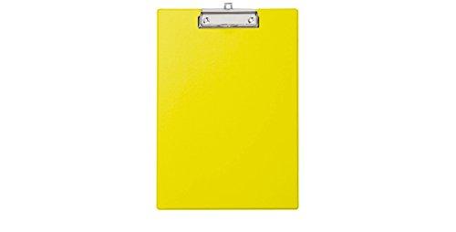 MAUL Klemmbrett, DIN A4, mit Folienüberzug, gelb