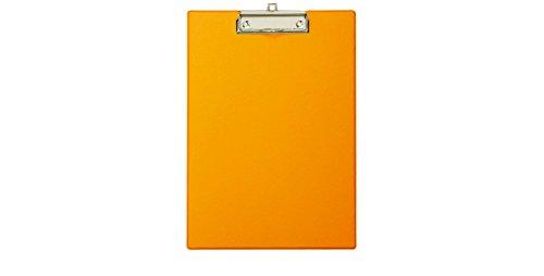 MAUL Klemmbrett, DIN A4, mit Folienüberzug, orange