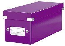 LEITZ CD-Ablagebox Click & Store WOW, violett
