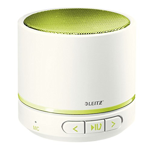 LEITZ Mini Bluetooth Lautsprecher WOW Duo Colour, grün