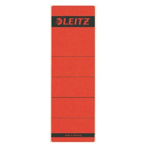LEITZ Ordnerrücken-Etikett, 61 x 192 mm, kurz, breit, rot