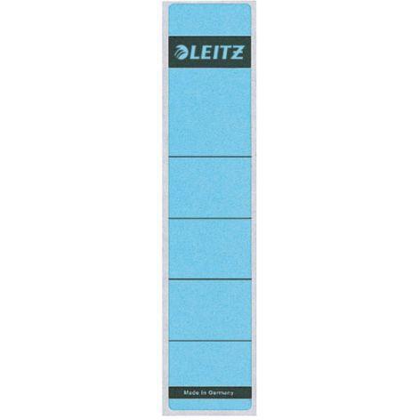 LEITZ Ordnerrücken-Etikett, 39 x 192 mm, kurz, schmal, blau