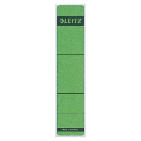 LEITZ Ordnerrücken-Etikett, 39 x 192 mm, kurz, schmal, grün