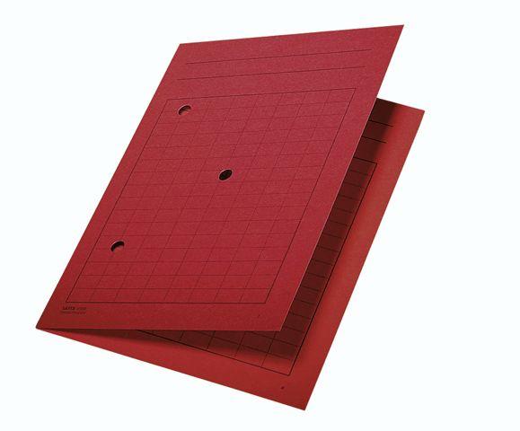 Umlauf-Mappe A4 3998 Rot  Leitz