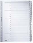 LEITZ Mylarkarton-Register, Zahlen, A4, 1-10, 10-teilig,...