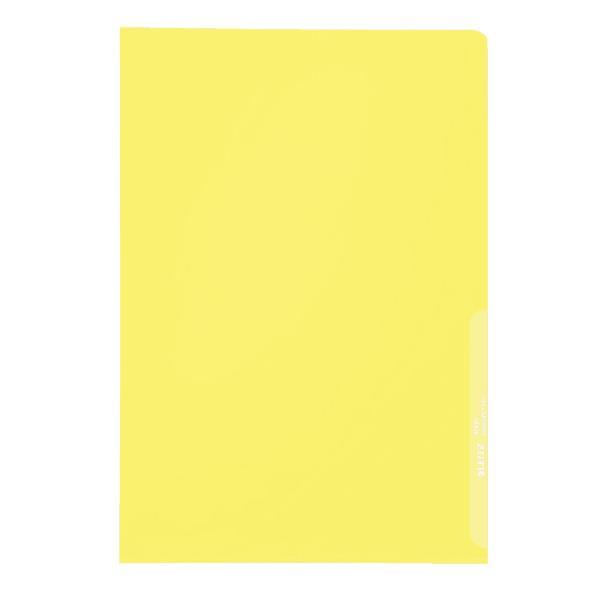 #100xSichthülle A4 gelb genarbt