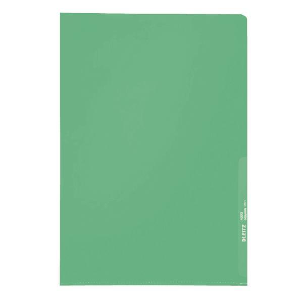 #100xSichthülle A4 grün genarbt