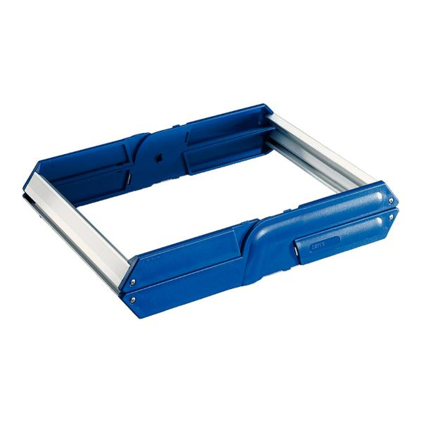 LEITZ Hängeregistratur-Korb, für 25 Hängemappen, A4, blau