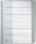 LEITZ Kunststoff-Register, Zahlen, A4 Überbreite, 1-20, ...