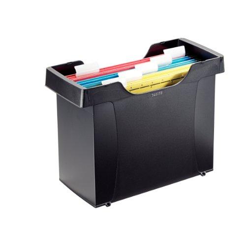LEITZ Mini-Aktei Hängeregistratur-Box Plus, schwarz