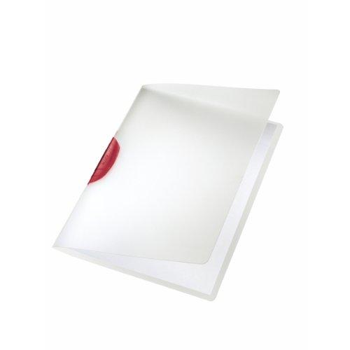 #6xLEITZ Klemmmappe Colorclip A4 rot