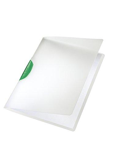 #6xLEITZ Klemmmappe Colorclip A4 grün