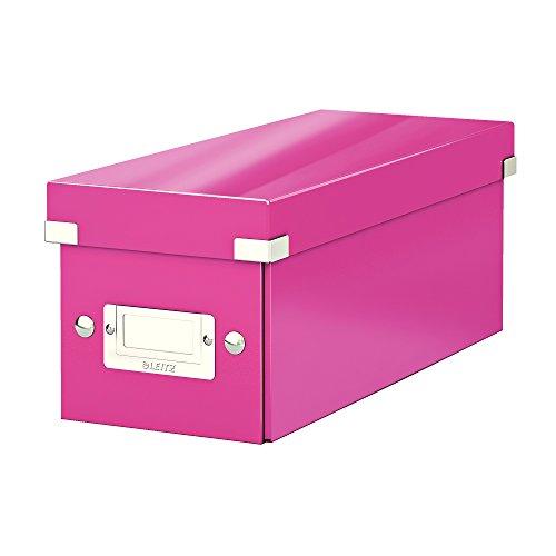 LEITZ CD-Ablagebox Click & Store WOW, pink