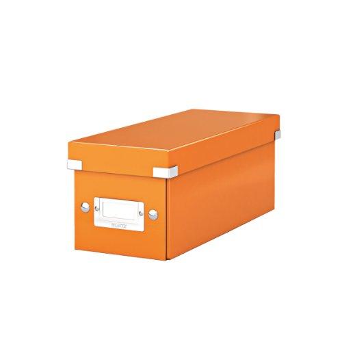 LEITZ CD-Ablagebox Click & Store WOW, orange