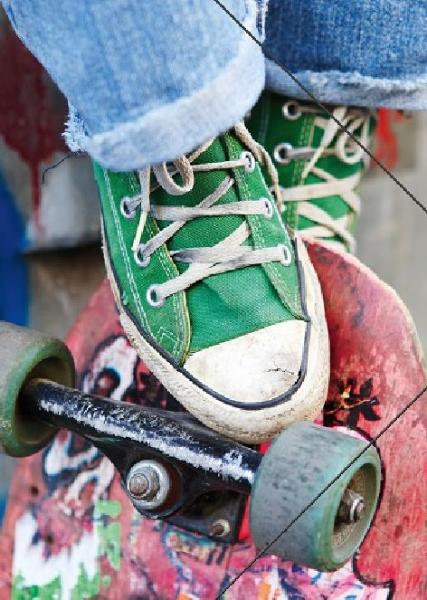 #3xZeichenmappe A3 PP Skater