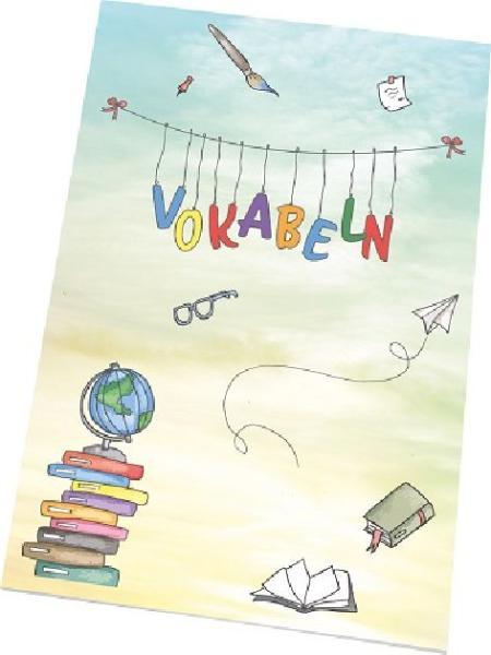 RNK Verlag Vokabelheft Schooldoodle, DIN A5, 2 Spalten