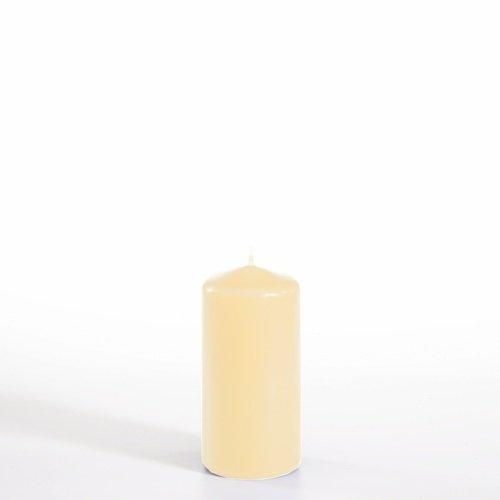 PAPSTAR Stumpenkerze, Durchmesser: 50 mm, creme