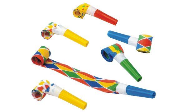 PAPSTAR Luftrüssel, farbig sortiert