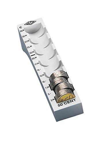 WEDO Münzrille für 50 Cent, lichtgrau