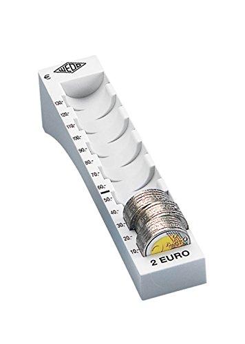WEDO Münzrille für 2 Euro, lichtgrau
