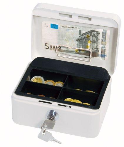 WEDO Geldkassette mit Clip, weiß, (B)152 x (T)115 x (H)8...